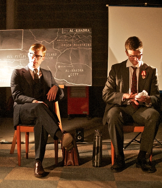 The Situation Room performed by Oscar Mike Theatre Company as pa